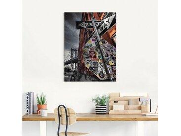 Artland Wandbild »New York Street Fotografie«, Amerika (1 Stück), Leinwandbild