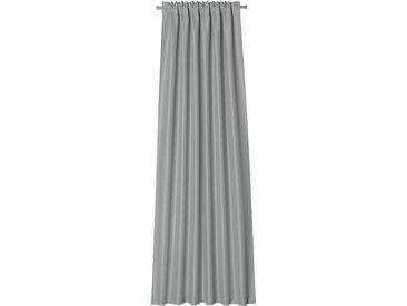 Neutex for you! Vorhang »Linessa«, verdeckte Schlaufen (1 Stück), HxB: 245x137, Schal mit verdeckten Schlaufen, grau, hellgrau