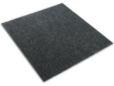 casa pura Teppichfliese »Merci«, Rechteckig, Höhe 6 mm, selbstklebend, schwarz, Anthrazit