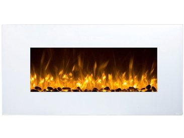 GLOW FIRE Elektrokamin »Neptun weiß«