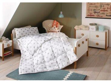 Lüttenhütt Kinderbettdecke + Kopfkissen, »Stern«, Material Füllung: Kunstfaser, Hohes Bauschvolumen, 1 x 135 cm x 200 cm