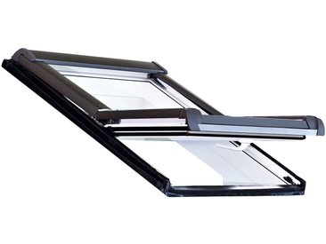 RORO Türen & Fenster RORO Dachfenster »Typ DKE207«, BxH: 114x118 cm, weiß, grau, anthrazit