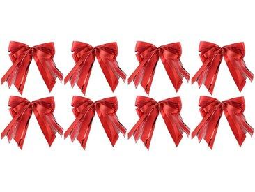 PRÄSENT Weihnachtsbaumschleife (8-tlg), handgebunden