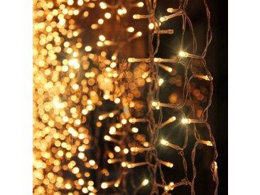 interGo LED-Lichterkette »300 LED Lichtervorhang Lichterkette Innen Außen«
