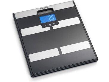 Brabantia Körper-Analyse-Waage »Schwarz-Grau 481949«