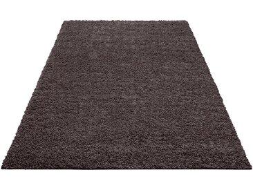 Home affaire Hochflor-Teppich »Shaggy 30«, rechteckig, Höhe 30 mm, grau, dunkelgrau