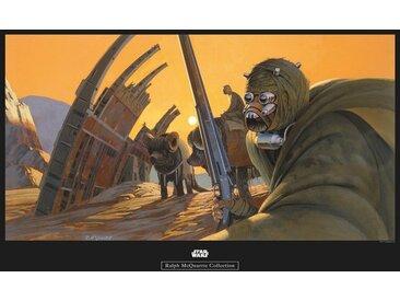 Komar KOMAR Wanddekoration »Star Wars Classic RMQ Tusken«, ohne Rahmen, bunt, 70 cm, bunt