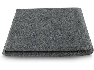 ARLI Gästehandtücher »Gästetuch 30 x 50 cm Gästetücher Handtuch 100% Baumwolle hochwertige Frottier klassischer Design elegant schlicht modern praktisch mit Handtuchaufhänger« (1-St), grau