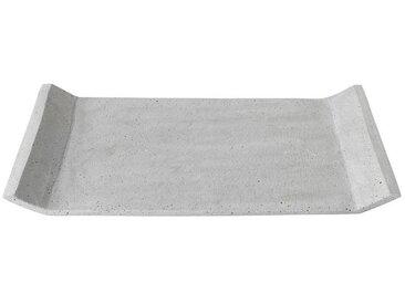 BLOMUS Dekotablett »MOON light grey 40 x 30 cm«