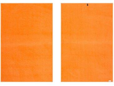 Vossen Handtücher »New Generation« (2-St), große Farbauswahl, orange, orange