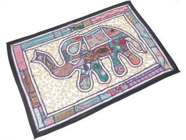 Guru-Shop Wandteppich »Orientalischer Elefant Tischläufer, Wandbehang,..«, Höhe 95 mm