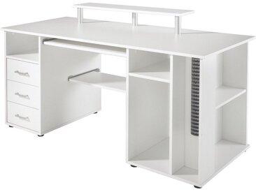 Schildmeyer Schreibtisch »Baku«, weiß, weiß
