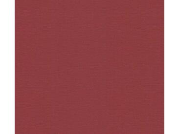 A.S. Création Vinyltapete, Unitapete Rot Papiertapete 249463 Wandtapete Tapete Uni modern