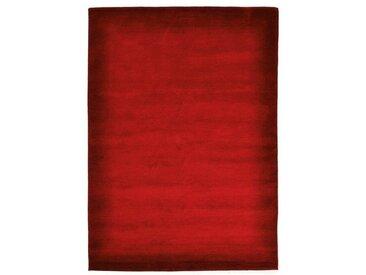 OCI DIE TEPPICHMARKE Wollteppich »Vinciano Tami«, rechteckig, Höhe 8 mm, handgeknüpft, rot, dunkelrot