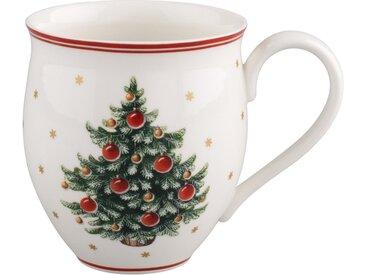 Villeroy & Boch Toy's Delight Kaffeebecher »Toy's Delight«, weiß, 440,00 ml, weiß,rot