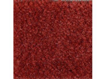 Bodenmeister BODENMEISTER Teppichboden »Dinora«, Velours gemustert, Breite 400/500 cm, rot, dunkelrot