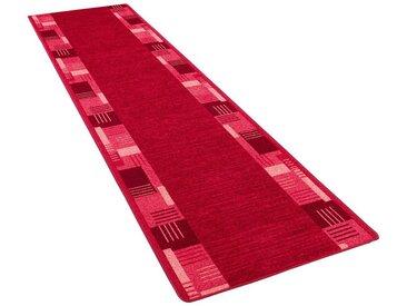 Snapstyle Veloursteppich »Läufer Velours Magic Trend«, Rechteckig, Höhe 6 mm, rot, Rot