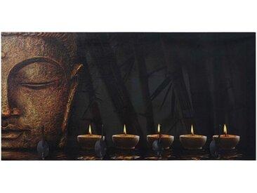 MCW Garderobe »-C75-D«, Komplett fertig montiert, 4 Doppelhaken, Buddha