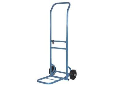 Sackkarre, Tragkraft: 125 kg, blau, blau