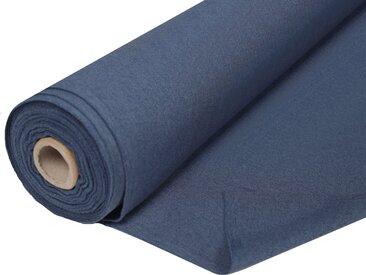 Home Basics Vorhang nach Maß »ESTE«, (1 Stück), Dekostoff mit Struktur zum selber Nähen!, blau, blau