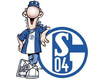 Wall-Art Wandtattoo »Fußball FC Schalke 04 Erwin« (1 Stück)