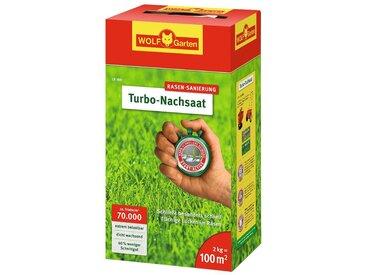 WOLF-Garten Rasensamen »Turbo«, 2 kg, in versch. Gebindegrößen, 2 kg