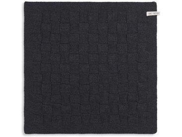 Knit Factory Tischdecke »Küchentuch Uni Anthrazit«
