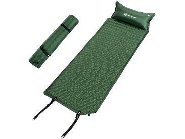 COSTWAY Luftmatratze »Schlafmatte«, mit Kissen und Tragetasche, selbstaufblasbar