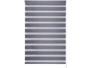 Good Life Doppelrollo nach Maß »Kena«, Lichtschutz, freihängend, 36mm Welle für Breiten bis 210cm, grau, anthrazit