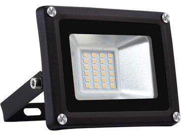 awortek Flutlichtstrahler »20W LED Fluter SMD Außenstrahler«, weiß, Warmweiß