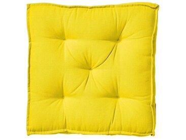 BUTLERS Sitzkissen » SOLID Sitzkissen L 40 x B 40cm«, gelb, Gelb