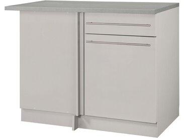 wiho Küchen Eckunterschrank »Chicago« 110 cm breit, für eine optimale Raumnutzung, natur, Cashmere