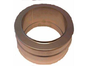 Zitec ZICKWOLFF Edelstahl-Schornstein Mündungsabschluss, 15 cm Innendurchmesser, silberfarben, silberfarben