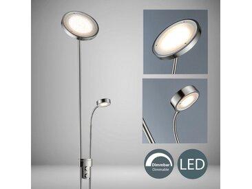 B.K.Licht LED Deckenfluter »Luan«, 1-flammig, mit Leselampe