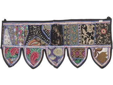 Guru-Shop Wandteppich »Orientalischer Wandbehang, indischer Toran,..«, Höhe 35 mm, Design 32