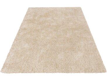 Guido Maria Kretschmer Home&Living Hochflor-Teppich »Rom«, rechteckig, Höhe 40 mm, gewebt, natur, beige-cream