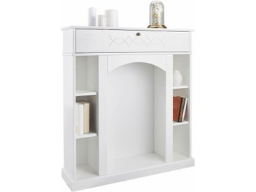 Home affaire Kaminumbauschrank Breite 100 cm, weiß, weiß