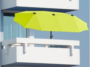Schneider Schirme Balkonschirm »Salerno«, LxB: 300x150 cm, Inkl. Schutzhülle, ohne Schirmständer, grün, grün