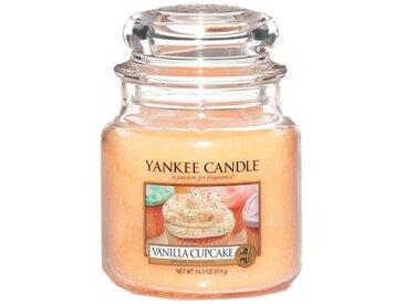 Yankee Candle Duftkerze »Classic Housewarmer Mittel Vanilla Cupcake«