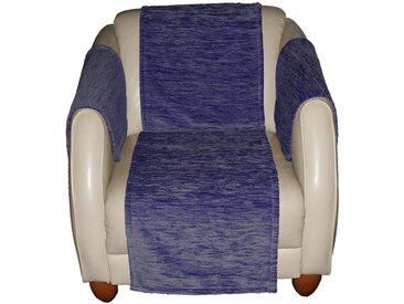 Wirth Sofaläufer »Miriam«, rechteckig, Höhe 5 mm, blau, blau