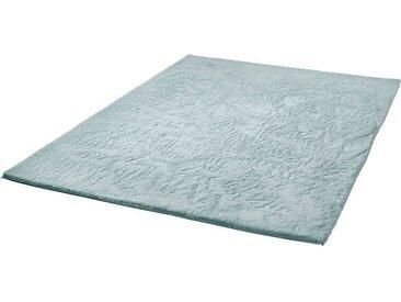 Dekowe Teppich »Roger Light«, rechteckig, Höhe 20 mm, Kunstfell, Kuschelteppich, Wohnzimmer, grün, mint