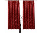 VHG Vorhang »Melissa«, Kräuselband (2 Stück), rot, rot