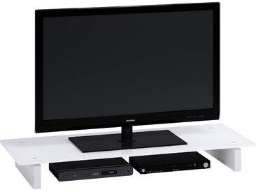 Jahnke TV-Aufsatz »Z-GA 110«, weiß, Weißglas