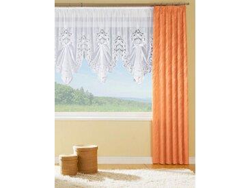 Vorhang, Smokband (1 Stück), orange, terrakotta