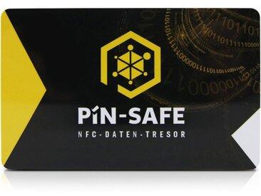 PIN-SAFE Speicherkarte »offline Daten-Tresor android & iOS inkl 2.Karte«, schwarz, Schwarz