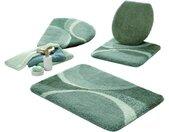 Grund Badematte , Höhe 18 mm, grün, jade