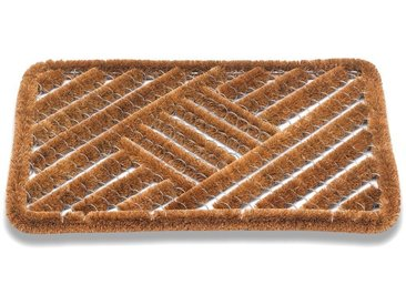 matches21 HOME & HOBBY Fußmatte »Kokos Fußmatten Kokosmatten Drahtgittermatte Karomuster 50x80 cm«, rechteckig, Höhe 20 mm