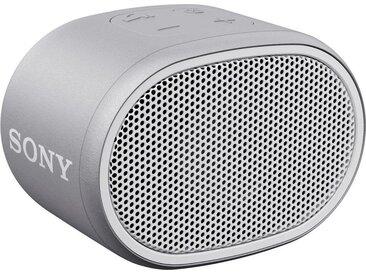 Sony SRS-XB01 Mono Bluetooth-Lautsprecher (Bluetooth, Extra Bass, 6h Akkulaufzeit, Spritzwassergeschützt), weiß, weiß