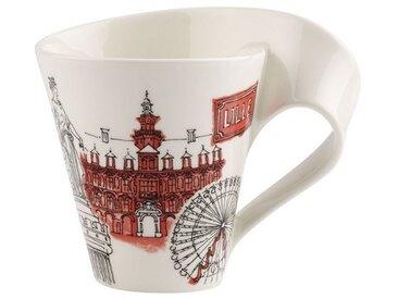 Villeroy & Boch Kaffeebecher Lille »Cities of the World«, rot, 300,00 ml, rot