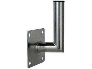 PremiumX »10-15cm Wandhalter Stahl verzinkt Winkel Wand-Halterung für Satelliten-Antenne SAT-Schüssel Wand-Montage Wandabstand 100-150mm Ø 48mm« SAT-Halterung